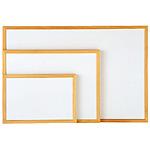 ホワイトボード ウッドフレ-ムA 450×300