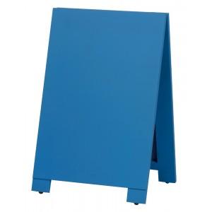 木製A型案内板 mini カラー:青 (WA60-BS)