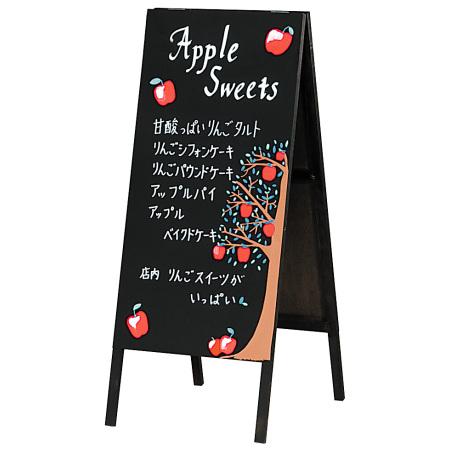 木製A型黒板 (両面)
